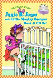 Junie B. Jones and a Little Monkey Business Book & CD Set