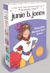 Junie B. Jones's Fourth Boxed Set Ever!